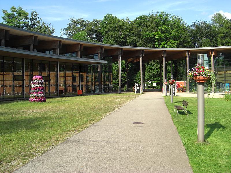 Schickes Besucherzentrum