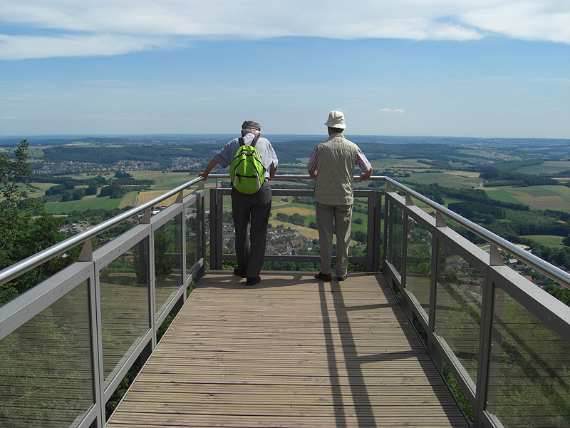 Der View Walk auf dem Schaumberg