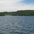 Der Bostalsee ist ein schöner See im Saarland.