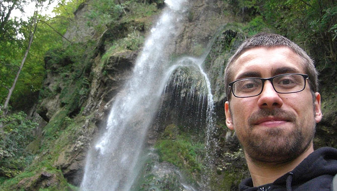 Bad-Uracher-Wasserfall