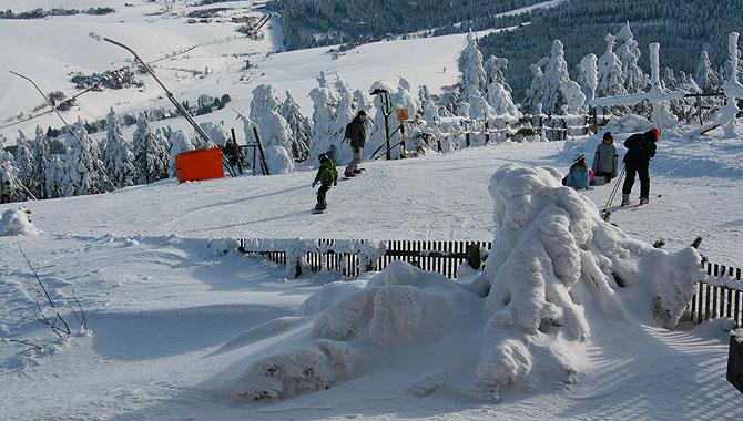 Fichtelberg_Skifahren