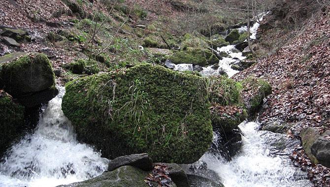 Heslacher-Wasserfälle_Heidenklinge