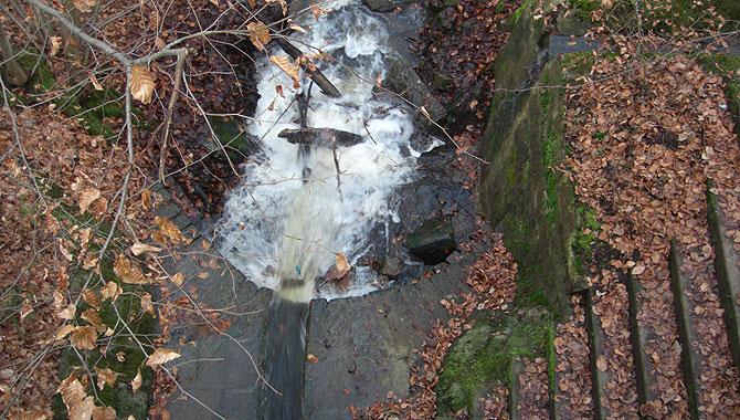 Heslacher-Wasserfälle_Wasserlauf