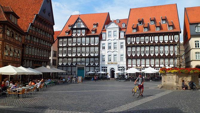 Hildesheim_Markplatz