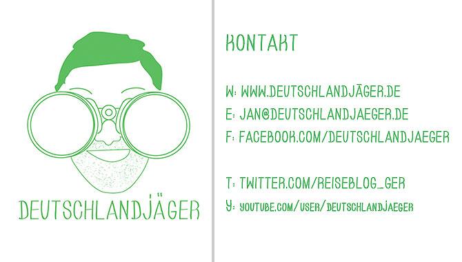 Reiseblog Deutschlandjäger Kontakt