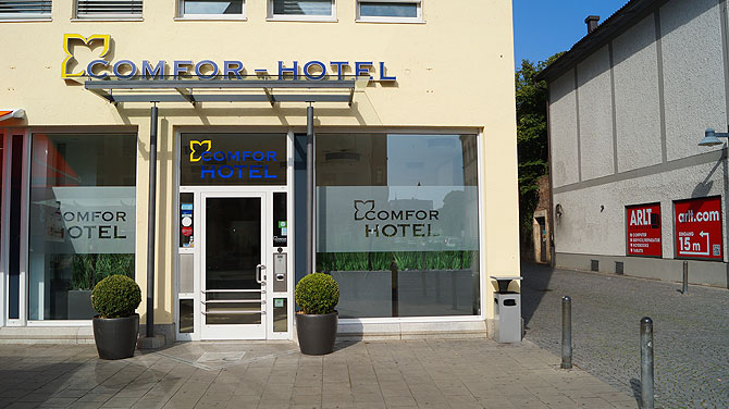 Comfor-Hotel-Ulm-Lage