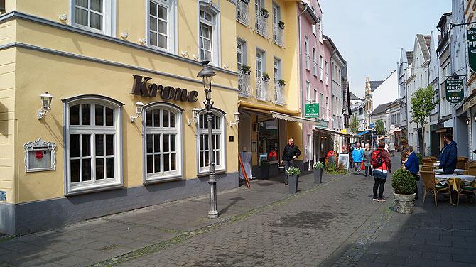 Hotel-Krone-Königswinter-Lage
