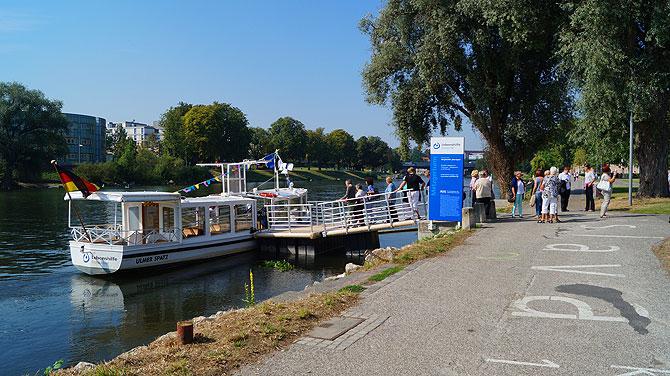 Donauschifffahrt-Ulmer-Spatz-Ablegestelle