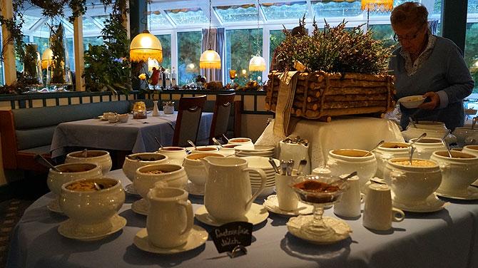 Hotel-Graf-Bentinck-Dangast-Frühstück