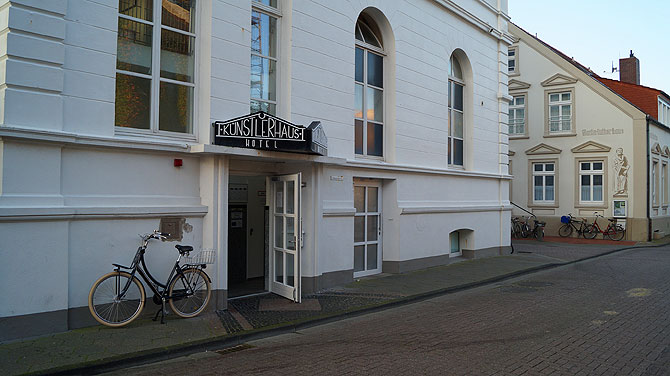 Hotel-Künstlerhaus-Norderney-Lage