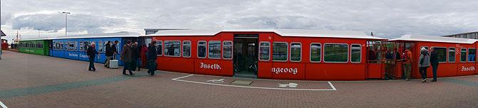 Langeoog-Inselbahn-Panorama