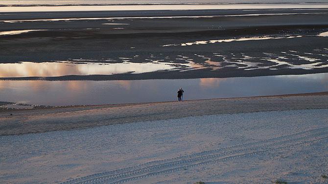 Langeoog-Sonnenuntergang
