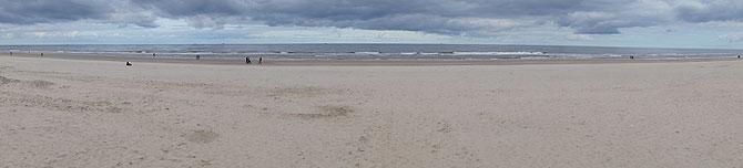 Langeoog-Strandpanorama
