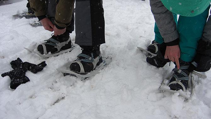 Schneeschuhwandern-im-Schwarzwald-Vorbereitung