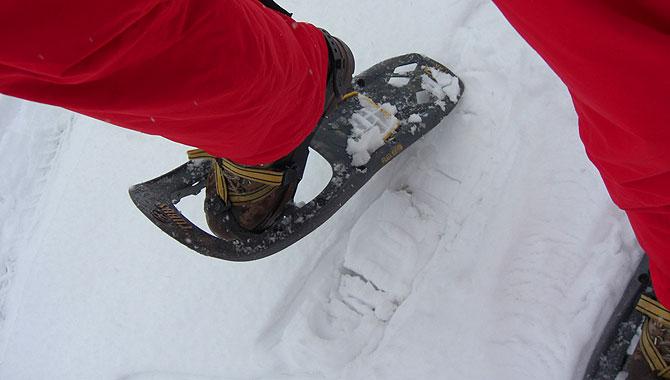 Schneeschuhwandern-im-Schwarzwald-laufen