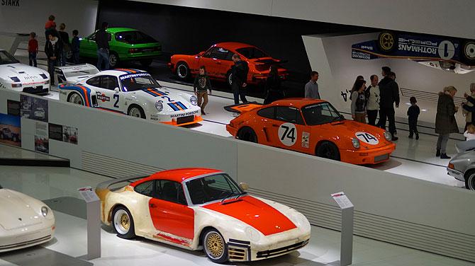 Porsche-Museum-Stuttgart-Sportwagen
