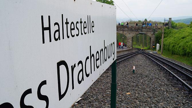 Nächste Haltestelle: Schloss Drachenburg