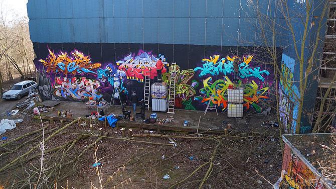 "Graffiti gehört zum ""Teufelsbild""."