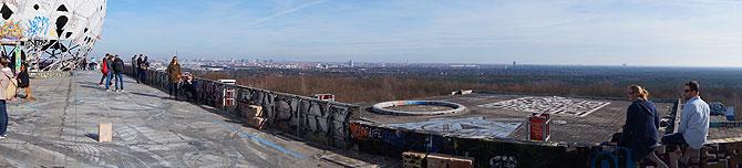Das Panorama und der Blick auf Berlin sind sehr cool.