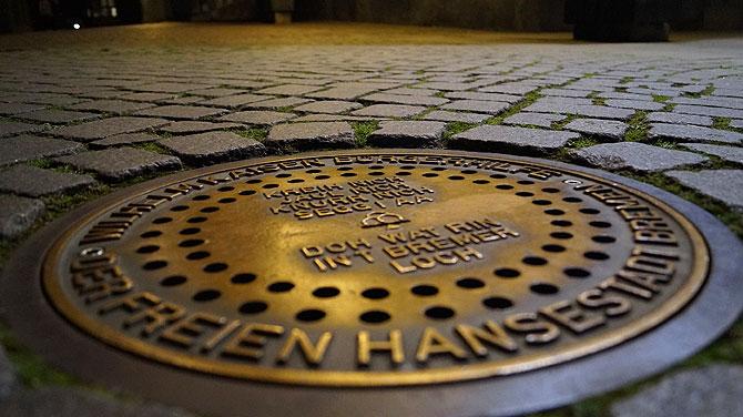 Das Bremer Loch gehört zu den bekannten Sehenwürdigkeiten in Bremen.