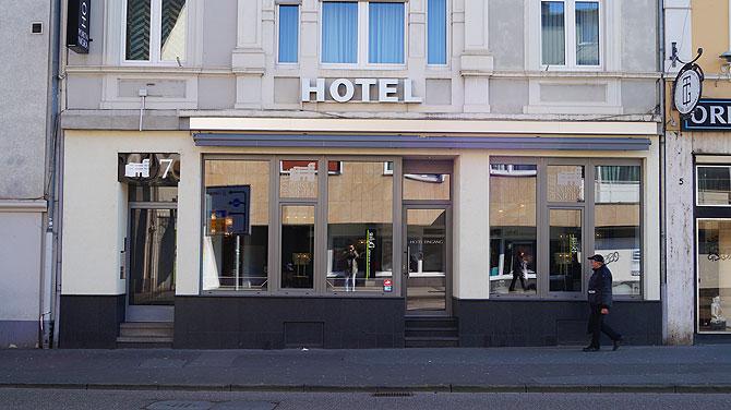 Die Lage des Hotels ist fast unschlagbar.