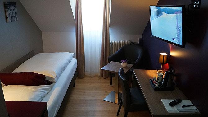 Zimmer im Hotel Porta Nigra in Trier