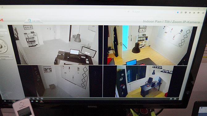 Monitor der Spielleiter von Mission Accepted