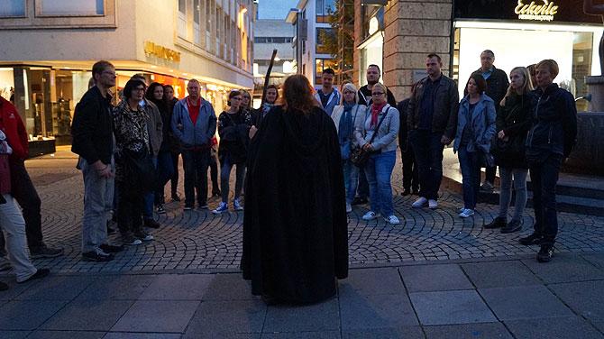 Die Stuttgarter Geister sind voll in ihrem Element.
