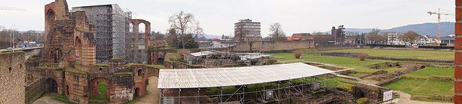 Panorama der Kaiserthermen