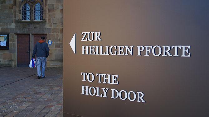 Heilige Pforte im Trierer Dom