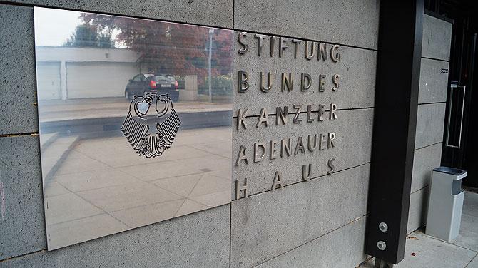 Das Adenauer-Haus heißt offiziell Stiftung Bundeskanzler-Adenauer-Haus