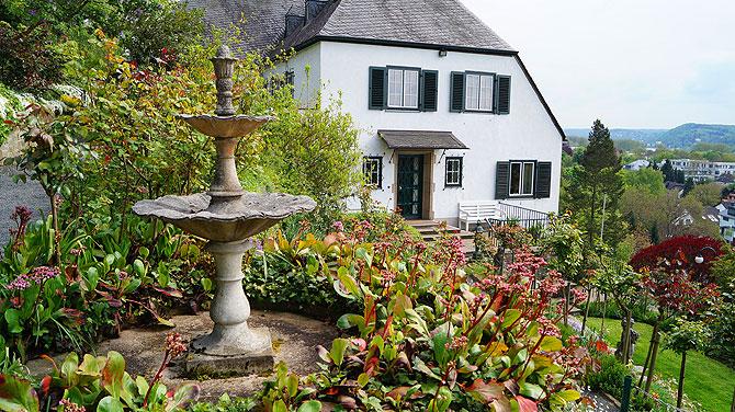 Brunnen im Garten des Konrad-Adenauer-Hauses
