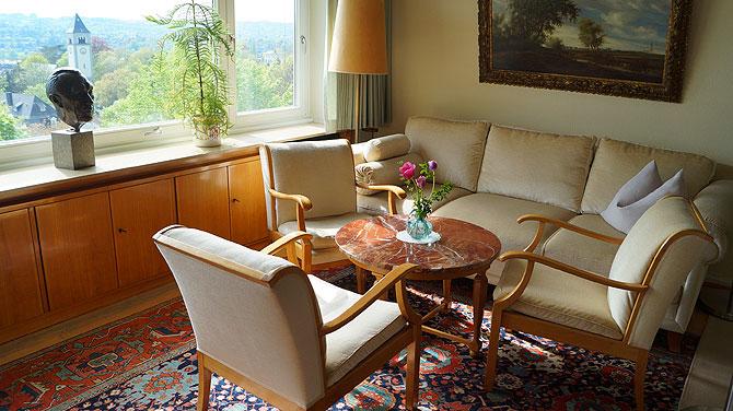 Wohnzimmer im Adenauer-Haus