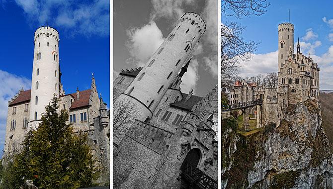 Ein paar mehr Schnappschüsse von Schloss Lichtenstein