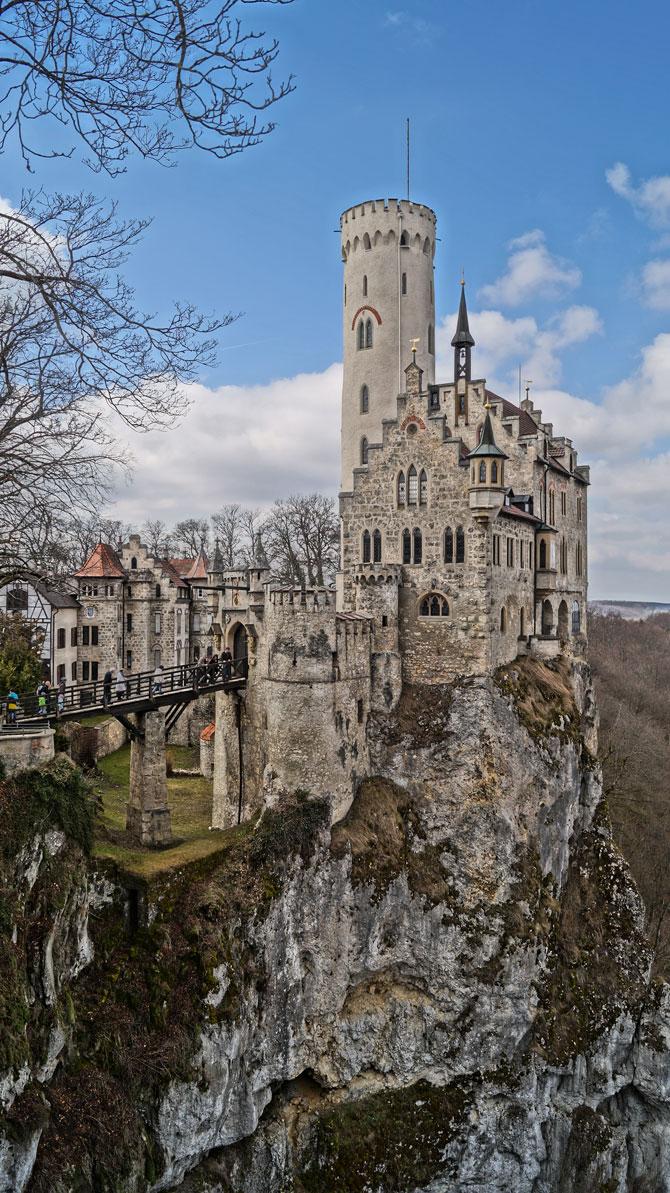 Postkartenmotiv von Schloss Lichtenstein