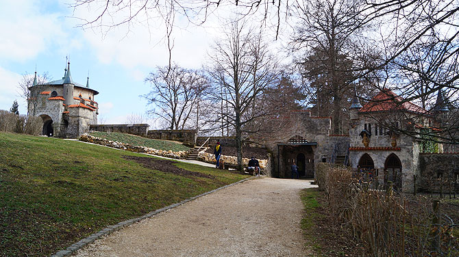 Die Runde im Schlossgarten ist keine besonders große.