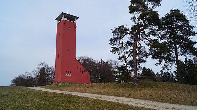 Der Raichbergturm ist ein Wahrzeichen der Schwäbischen Alb.