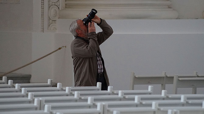 Fotografieren ist im Dom erlaubt!