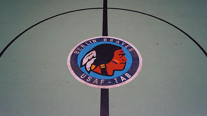Das Basketballteam der US Boys: die Berlin Braves