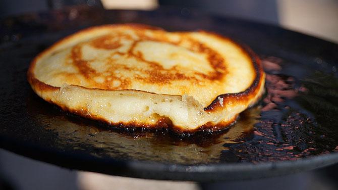 Frische Pancakes zum Frühstück?