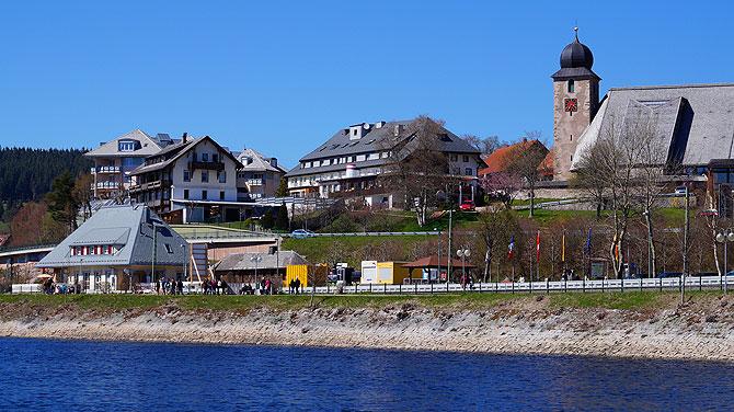 So sieht Schluchsee-Stadt aus.
