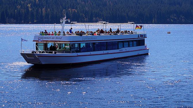 So sieht das Boot aus. Einschiffen, bitte!