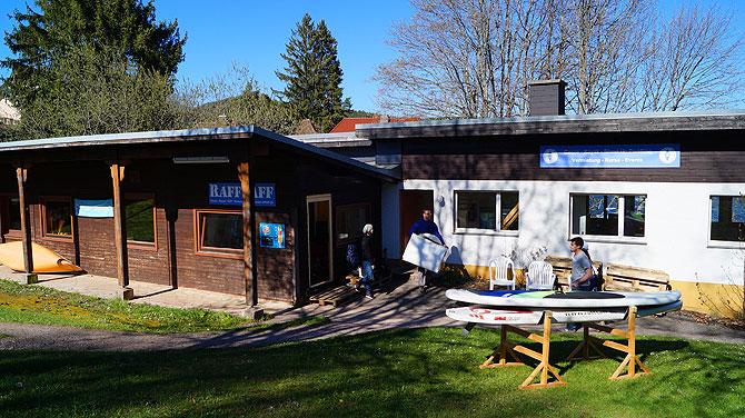Das Raff Taff Camp liegt in der Amalienbucht.
