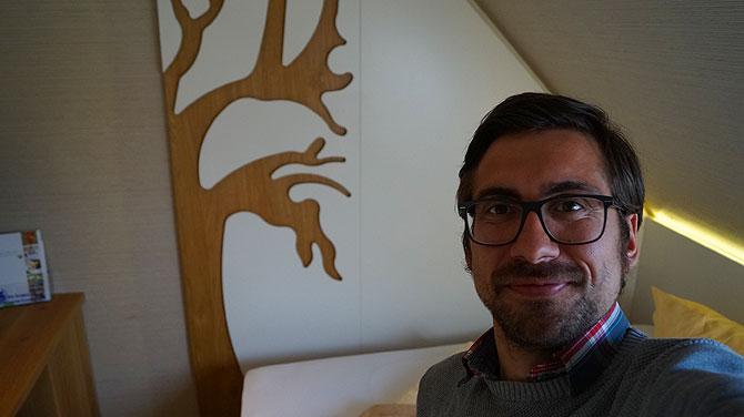 Ich im Hotel Nieder