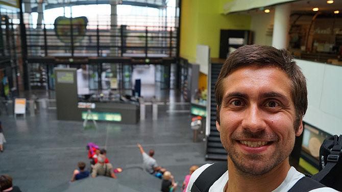 Ich im Klimahaus Bremerhaven