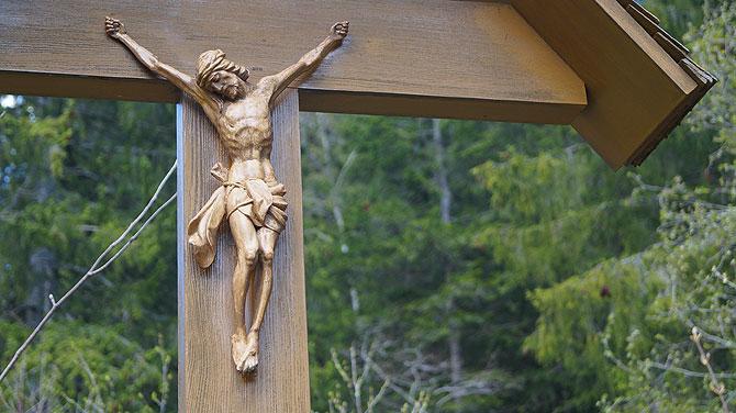 Jesus begleitet dich auf dem Weg