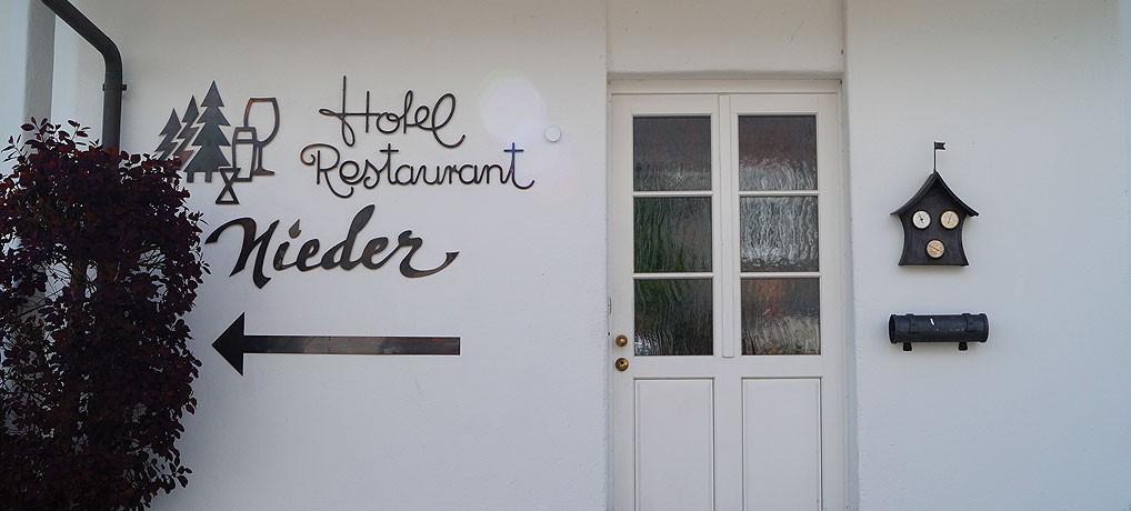 Das Hotel Nieder liegt in Bestwig im nördlichen Sauerland.