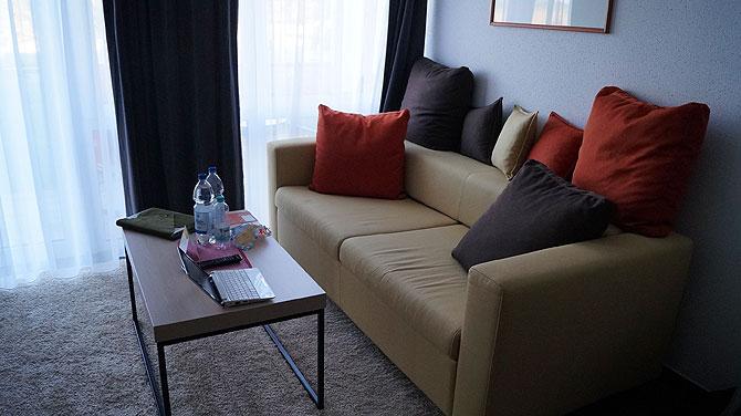 Couch im Zimmer