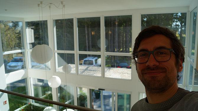 Ich im Parkhotel Rothaus