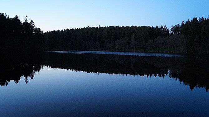 Blaue Stunde am Schlüchtsee
